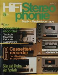 Hifi Stereophonie 5/1980 Zeitschrift