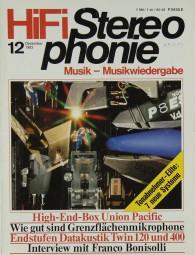 Hifi Stereophonie 12/1983 Zeitschrift