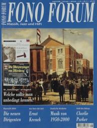 Fono Forum 8/2000 Zeitschrift