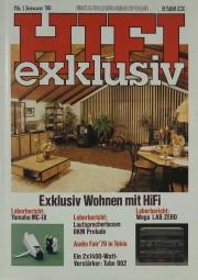 Hifi Exklusiv 1/1980 Zeitschrift