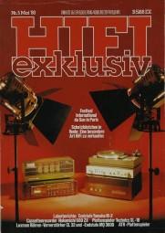 Hifi Exklusiv 5/1980 Zeitschrift