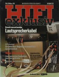 Hifi Exklusiv 3/1982 Zeitschrift