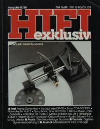 Hifi Exklusiv III / 88 Zeitschrift