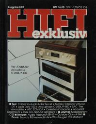 Hifi Exklusiv I / 89 Zeitschrift