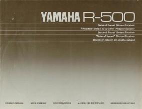 Yamaha R-500 Bedienungsanleitung