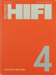 Hifi Exklusiv 4 / 1991 Zeitschrift