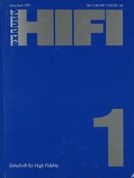 Hifi Exklusiv 1 / 1992 Zeitschrift