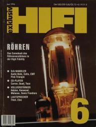 Hifi Exklusiv 6/1994 Zeitschrift