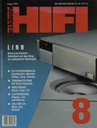 Hifi Exklusiv 8/1994 Zeitschrift