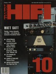 Hifi Exklusiv 10/1994 Zeitschrift