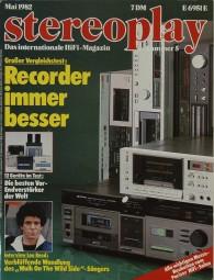 Stereoplay 5/1982 Zeitschrift