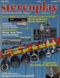 Stereoplay 5/1983 Zeitschrift