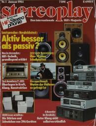 Stereoplay 1/1984 Zeitschrift