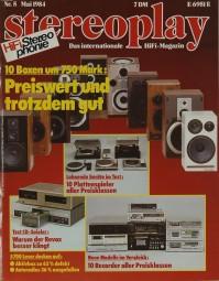 Stereoplay 5/1984 Zeitschrift