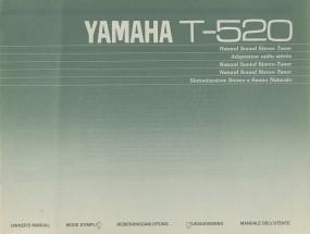 Yamaha T-520 Bedienungsanleitung