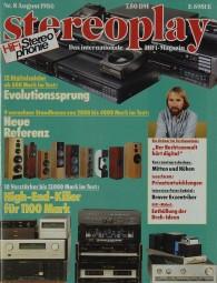 Stereoplay 8/1986 Zeitschrift