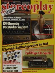 Stereoplay 3/1987 Zeitschrift