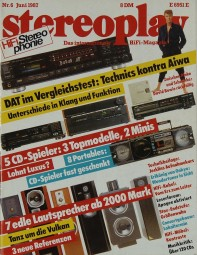 Stereoplay 6/1987 Zeitschrift