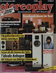 Stereoplay 12/1987 Zeitschrift