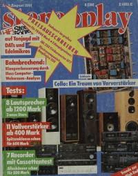Stereoplay 8/1988 Zeitschrift