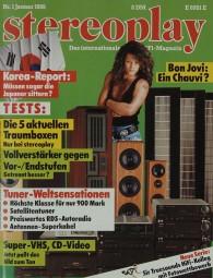 Stereoplay 1/1989 Zeitschrift