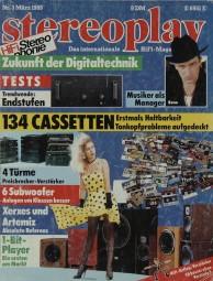 Stereoplay 3/1989 Zeitschrift