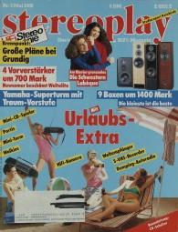 Stereoplay 5/1989 Zeitschrift