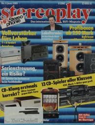 Stereoplay 6/1989 Zeitschrift