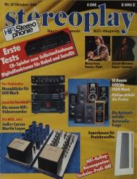 Stereoplay 10/1989 Zeitschrift