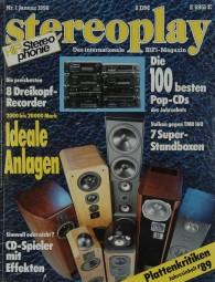 Stereoplay 1/1990 Zeitschrift