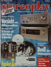 Stereoplay 2/1990 Zeitschrift