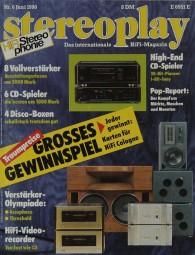 Stereoplay 6/1990 Zeitschrift