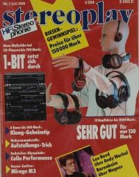 Stereoplay 7/1990 Zeitschrift