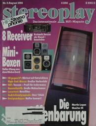Stereoplay 8/1990 Zeitschrift