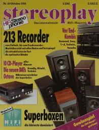 Stereoplay 10/1990 Zeitschrift