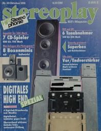 Stereoplay 10/1991 Zeitschrift