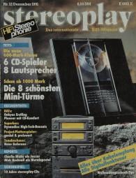 Stereoplay 12/1991 Zeitschrift