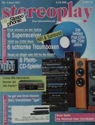 Stereoplay 6/1993 Zeitschrift