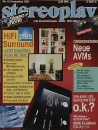 Stereoplay 12/1993 Zeitschrift
