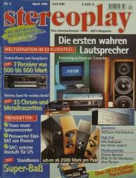 Stereoplay 4/1995 Zeitschrift