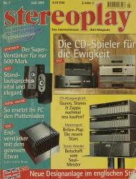 Stereoplay 7/1995 Zeitschrift
