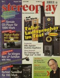 Stereoplay 8/1995 Zeitschrift