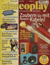 Stereoplay 2/1996 Zeitschrift