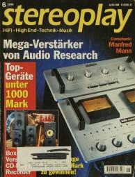 Stereoplay 6/1996 Zeitschrift