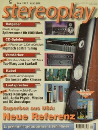 Stereoplay 5/1997 Zeitschrift