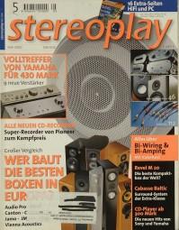Stereoplay 5/2000 Zeitschrift