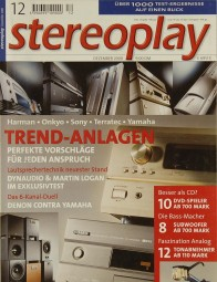 Stereoplay 12/2000 Zeitschrift
