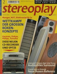 Stereoplay 2/2002 Zeitschrift
