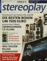 Stereoplay 4/2002 Zeitschrift