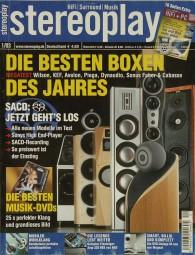 Stereoplay 1/2003 Zeitschrift
